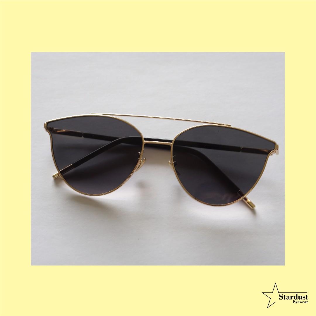 Kattie Black Kacamata Fashion ( Sunglasses )