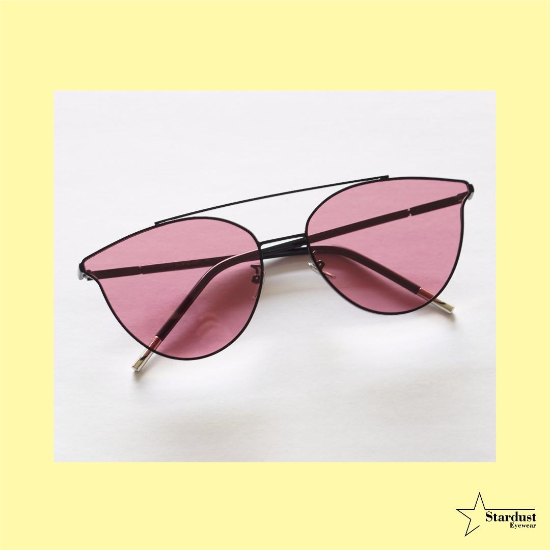 Kattie Pink Kacamata Fashion ( Sunglasses )