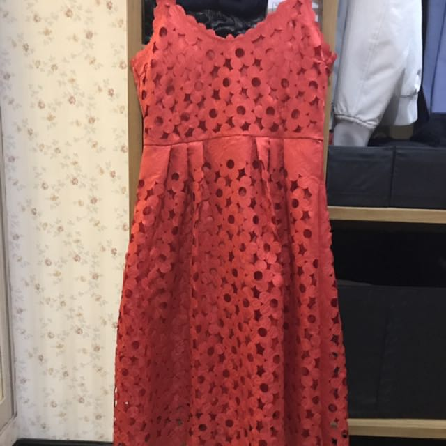 Korean Flower Dress