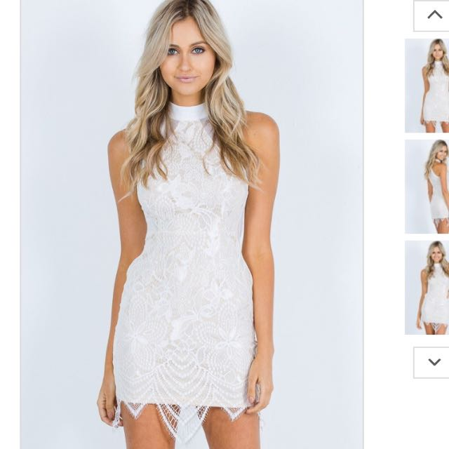 Lace Detailed Dress Brand New With Tags