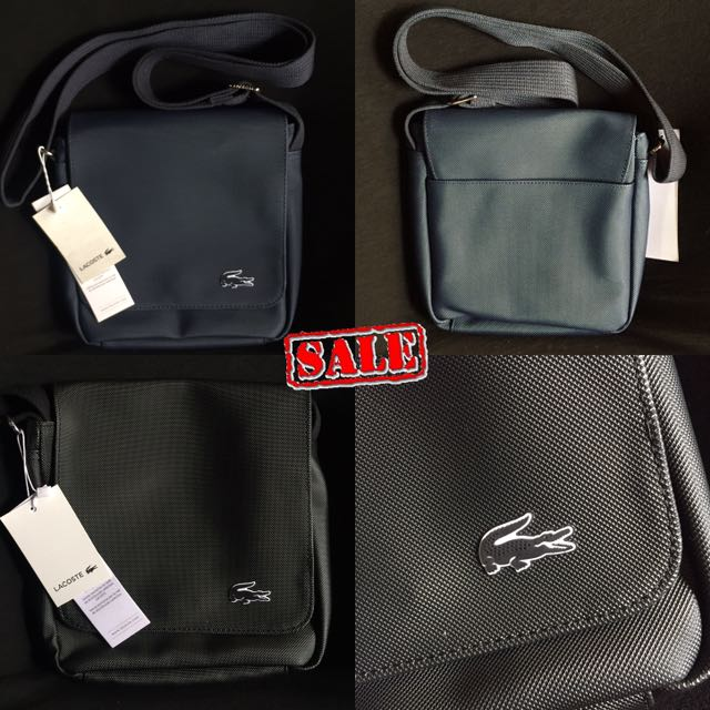 Lacoste Flap Crossover Body Bag