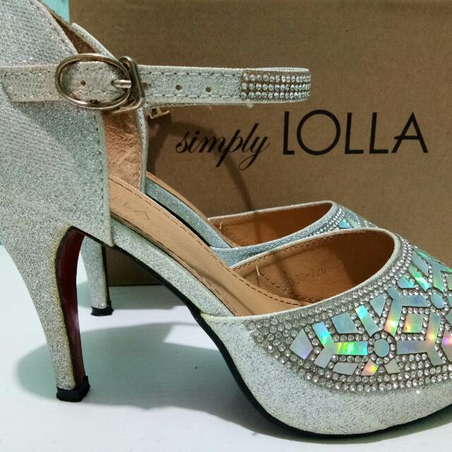 Lolla Silver Shoes