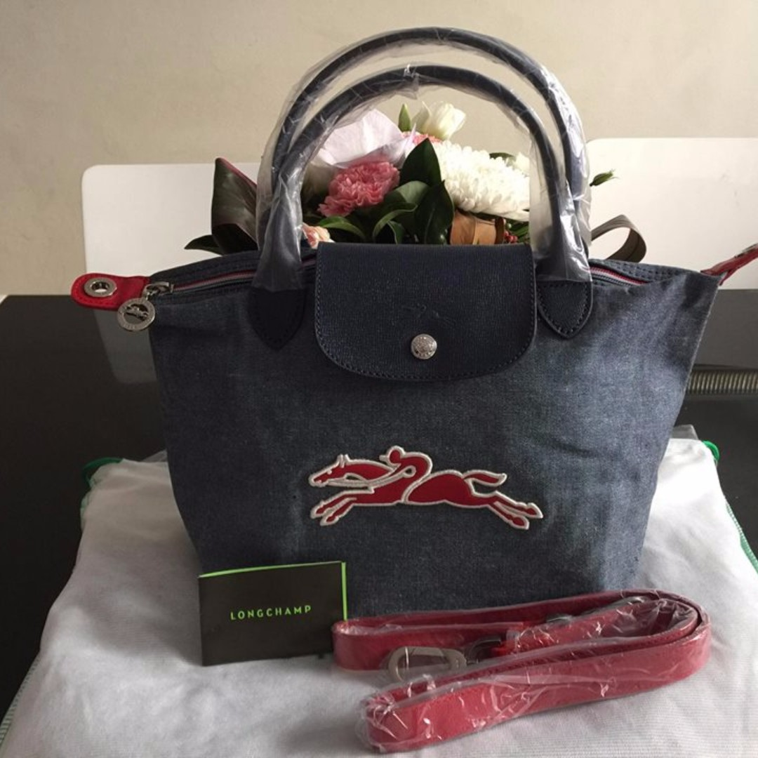 Longchamp Le Pliage On the Road Top Handle Small Bag (New, Genuine and On Hand)