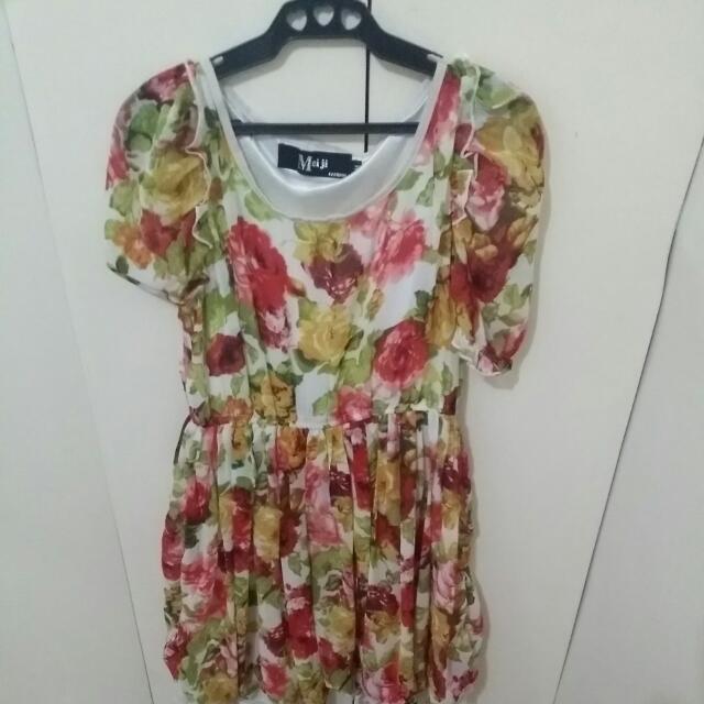 Mei Ji Floral Dress