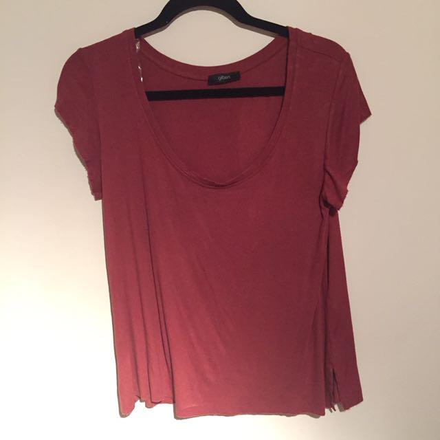 Mendocino Shirt- Wine