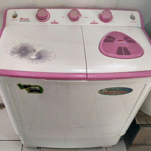 mesin cuci 2 tabung daimitshu