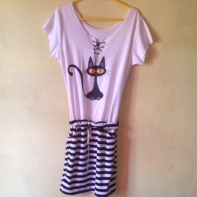 Mini dress lucu