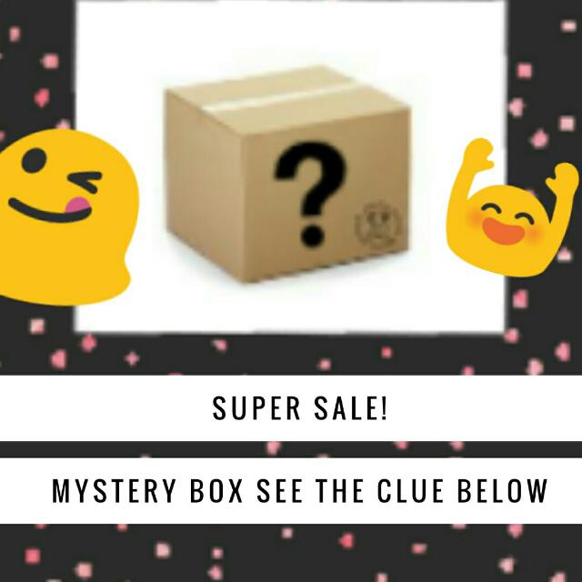 MYSTERY BOX SUPER SALE!! 1ST COME FIRST SERVE!!!!