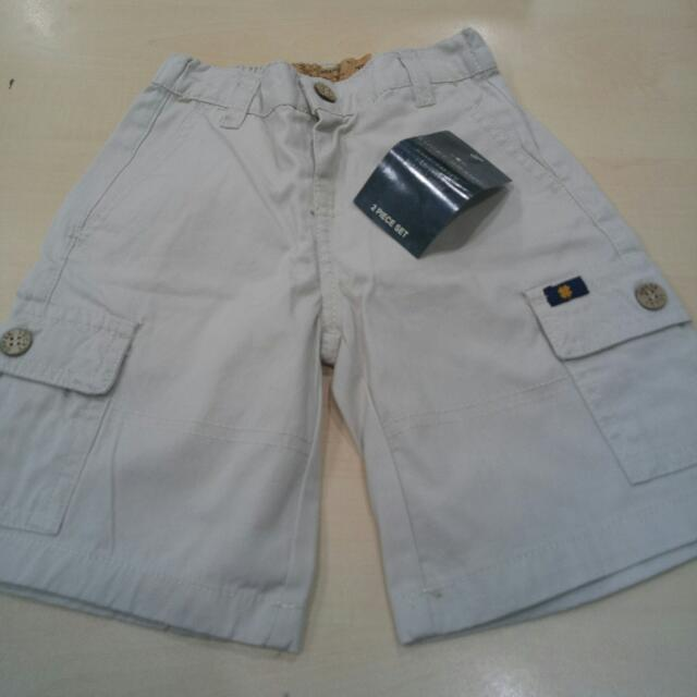 New With Tag!  Lucky Brand Boy Shorts  Size 4T