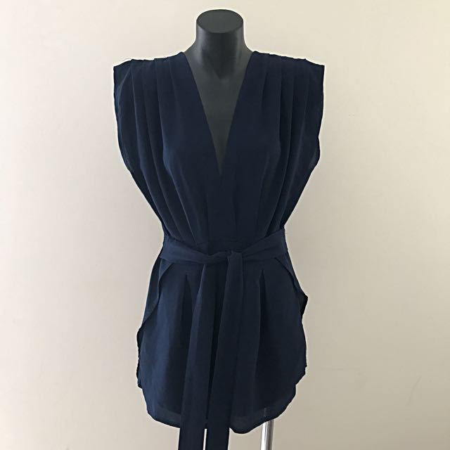 No Brand Playsuit - Navy Blue