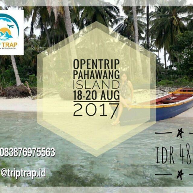 OPEN TRIP PAHAWANG 18-20 Agust 17 IDR 480k
