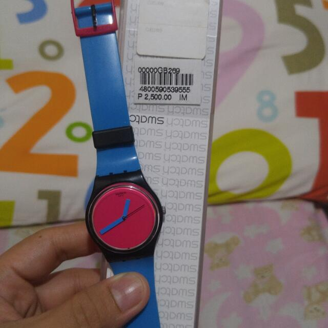 Original Swatch Watch For Women Almost New. Bihira lang magamit kaya benta na lang..  Original Price: Php2500.00 Selling for Only Php1500.00