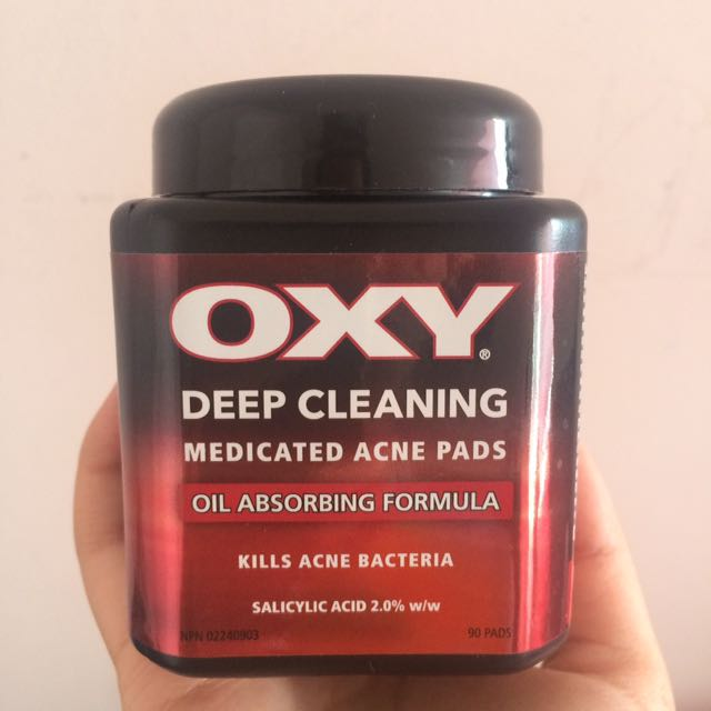 Oxy Deep Cleaning Acne Pads