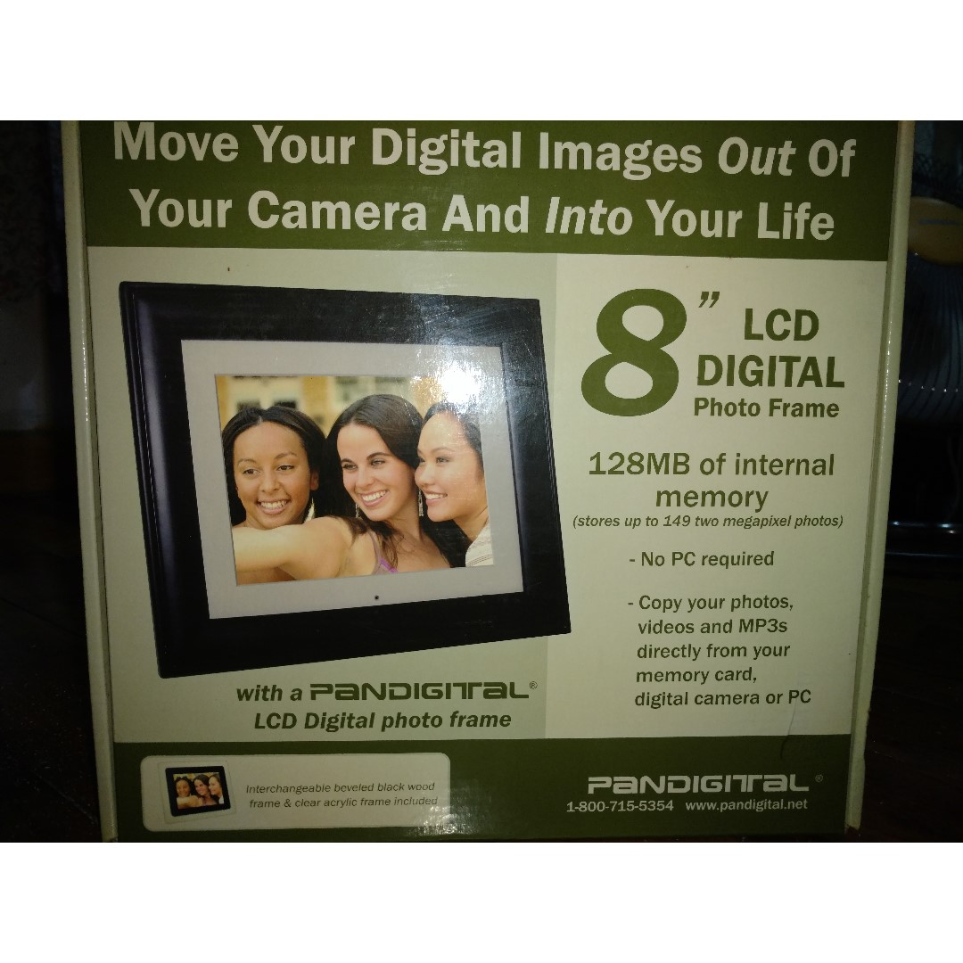 Pandigital 8 Lcd Digital Photo Frame Photography On Carousell