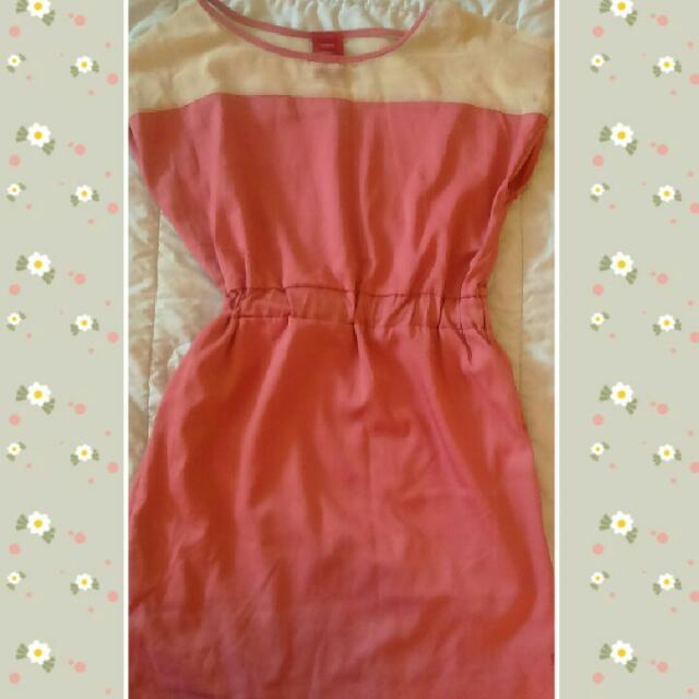 Pink Bayo Dress
