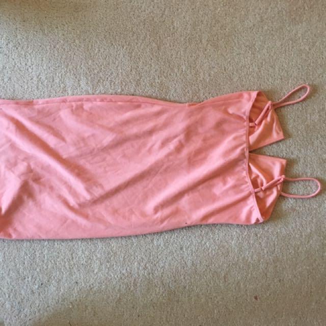 Pink GUESS brand Bodycon Dress Size XS