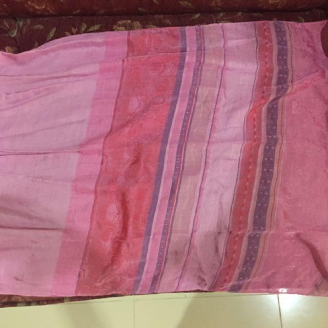 Pink Hijab Scarf / Kerudung Pashmina