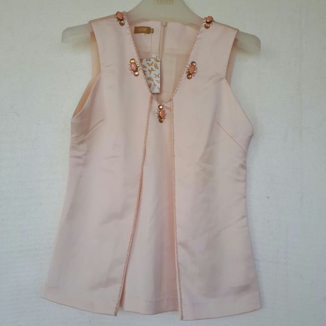 Pink Payet Top Size M