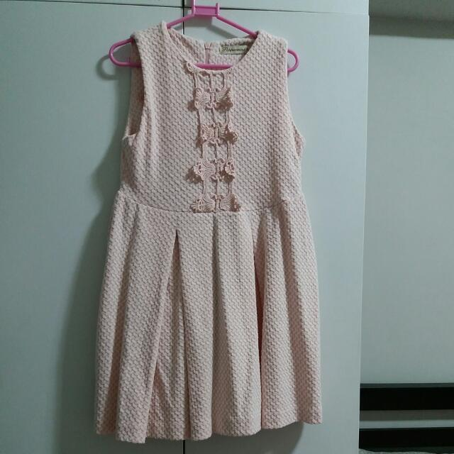 Pre-loved Peppermint Dress for Kids