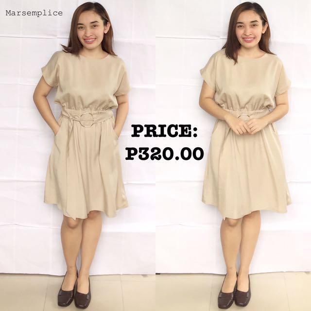 Qianyibaidu Beige/New Dress