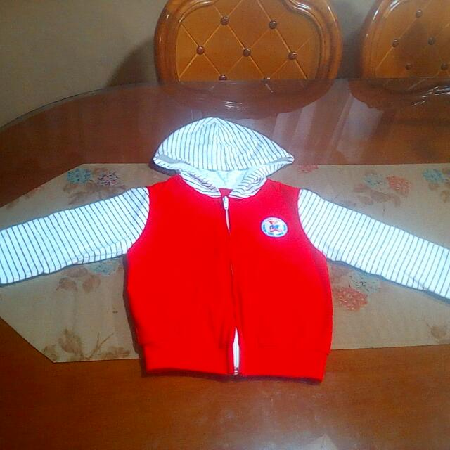 Red Stripes Bambini Jacket