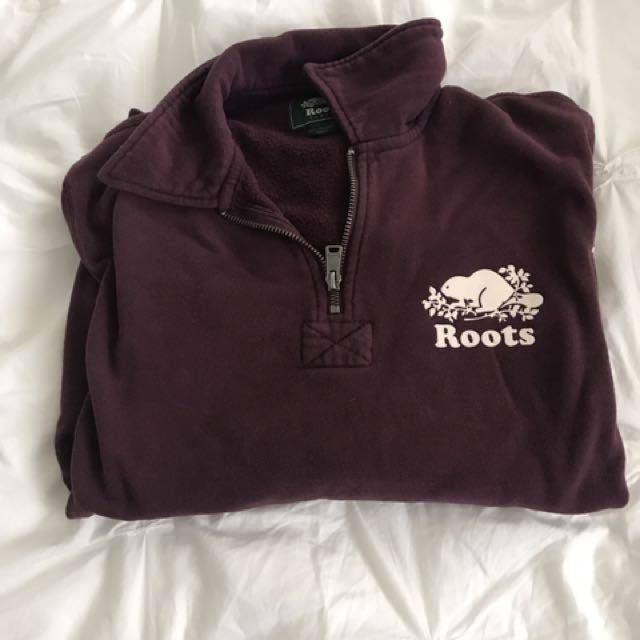 Roots Half Zip Pullover