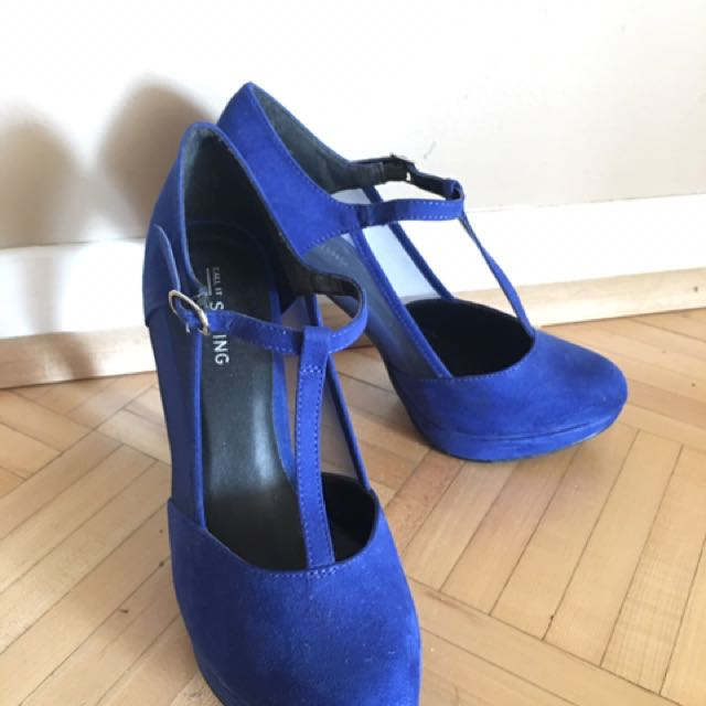 Royal Blue Heels From Call It Spring