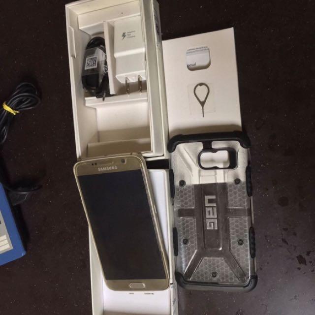 Samsung Galaxy S6 Duos 32gb With UAG Case