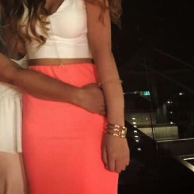 SASS Hot Pink Mini Skirt