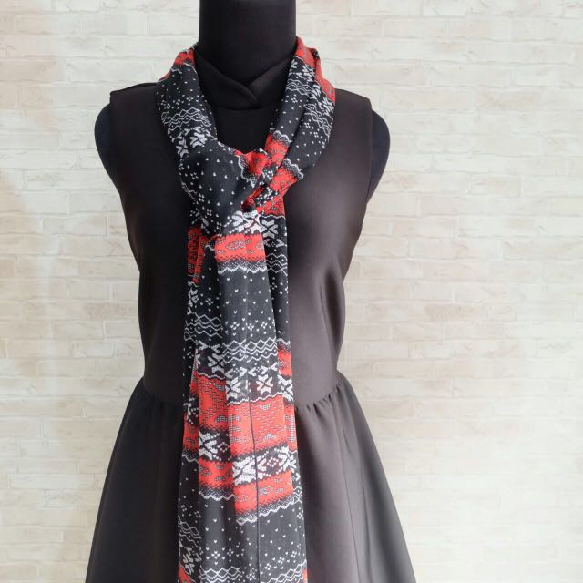 Scarf Motif Abstract