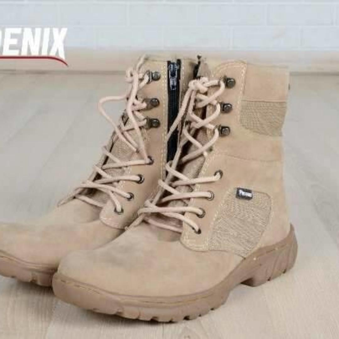 Sepatu Boots Pria Delta Tinggi Militer Tactical Shoes Original Brand ... c62de1f4d3