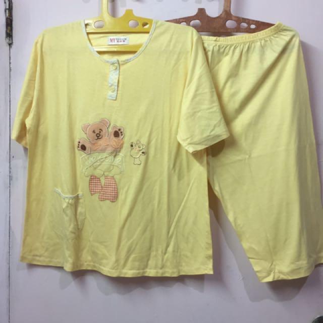 Set Piyama Kuning