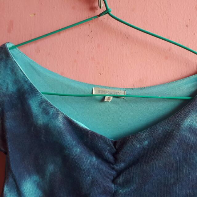SIMPLICITY (S) sea Dress Bodycon