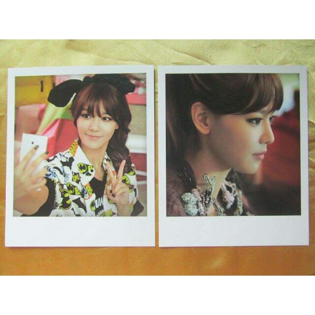 SNSD I Got A Boy Polaroid