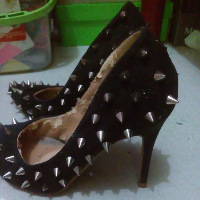 Spiked Studded Heels