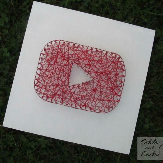 String Art - Youtube Play Button