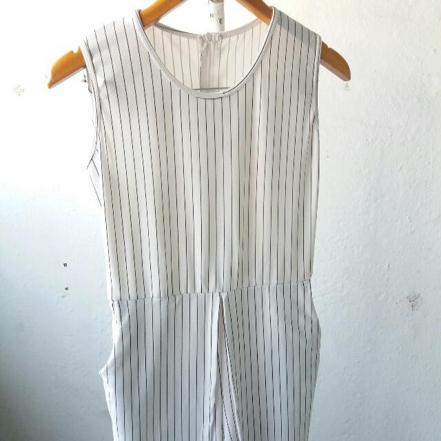 Stripe Jumpsuit