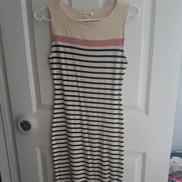 Striped Womens Dress From Winners Size S
