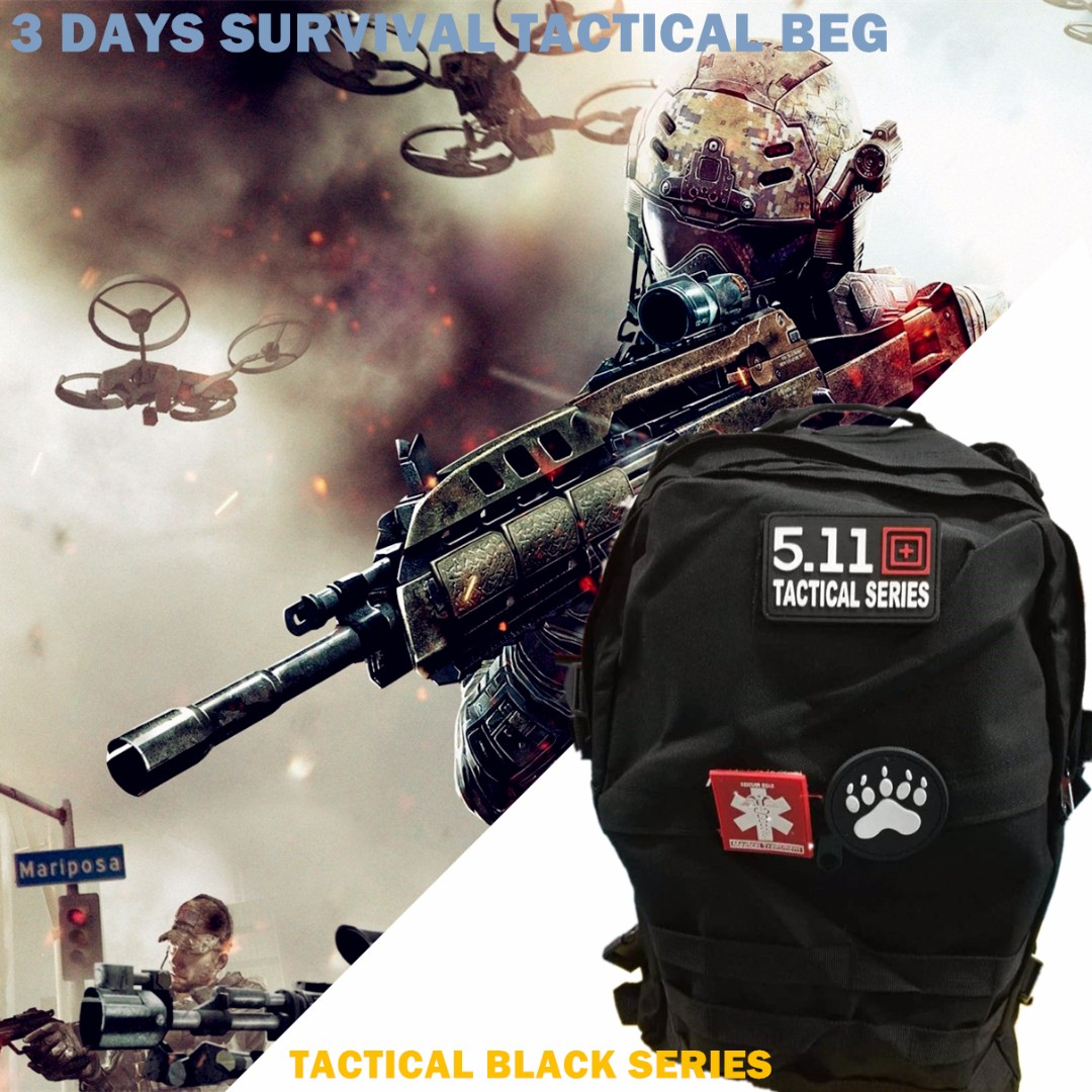 5f28c90d09c94 Tactical Performance™ 3-Day 42L Military Backpack Tactical Black (In ...