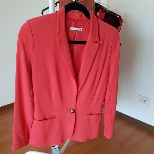 Target Coral Jacket Sz 8