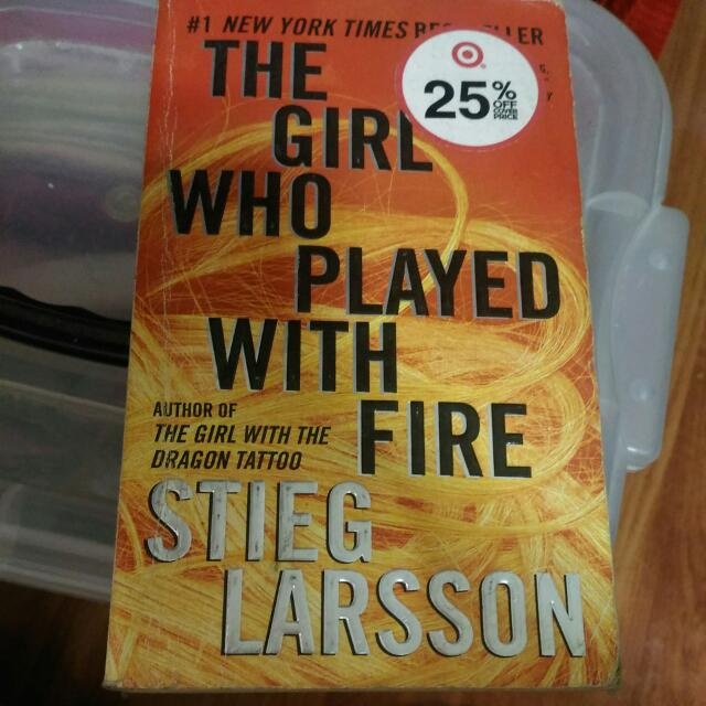 The Girl Who Played With Fire Fiction Novel