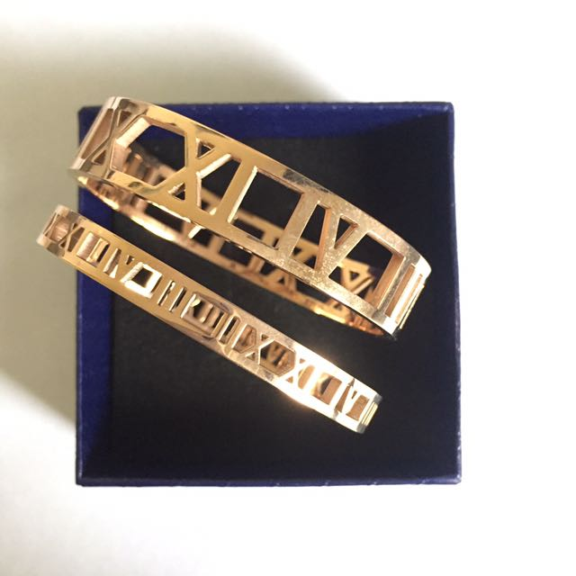 Thick OR Thin Roman Numeral Bracelet