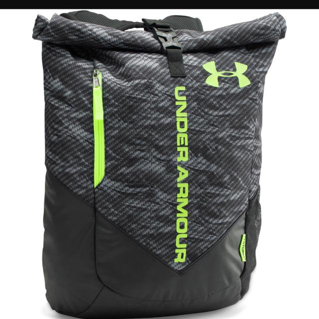 f79f32e41a Under Armour UA Storm Roll Trance Sackpack Backpack Gym School ...