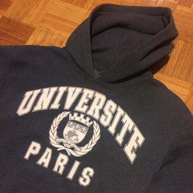 12d85f70a University of Paris Sweater, Women's Fashion, Clothes on Carousell