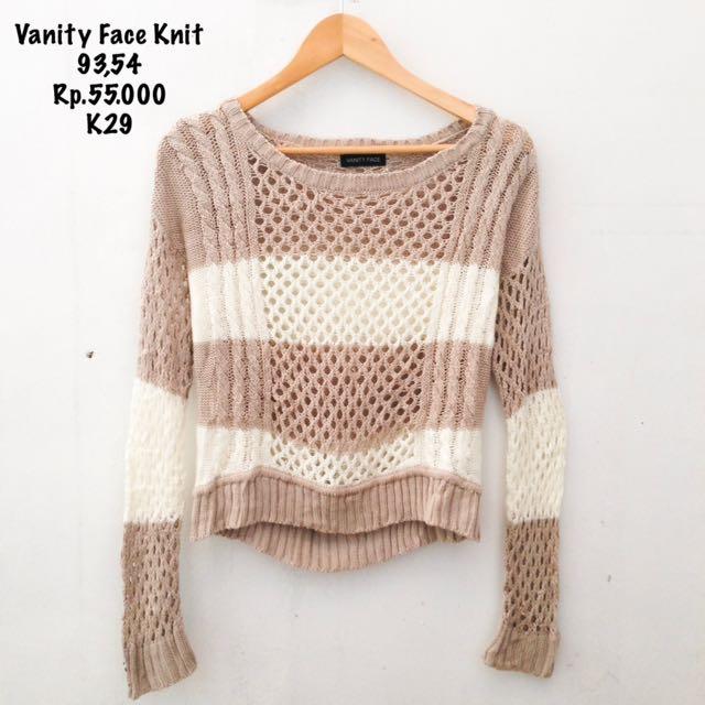 Vanity Face Knit