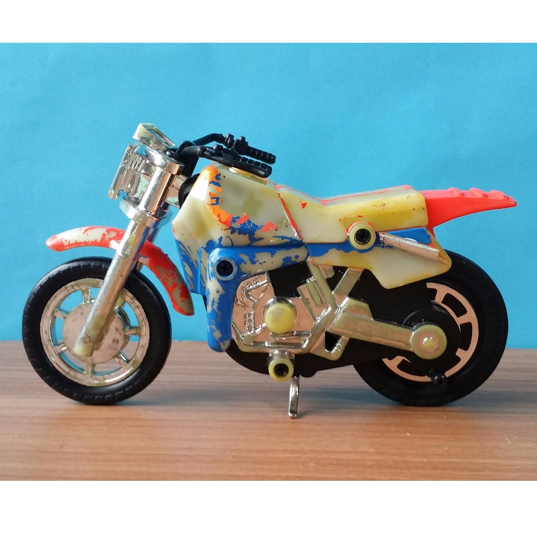 Vintage Toys Lanard 800ss Pull String Friction Motorcycle