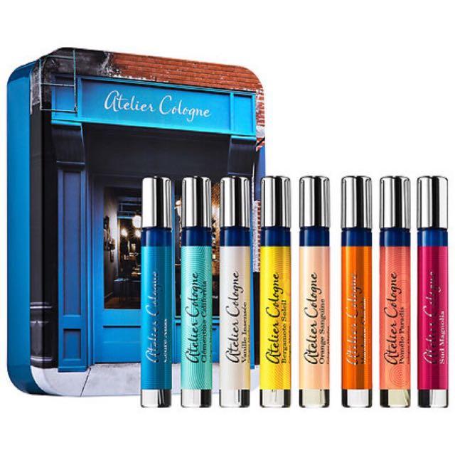 現貨48hr出貨🇫🇷ATELIER COLOGNE Perfume Wardrobe 古龍香水 超值禮盒 組合