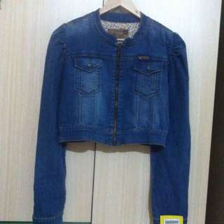 LOIS denim crop jacket