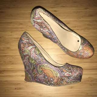 Spring Colourful Wedges