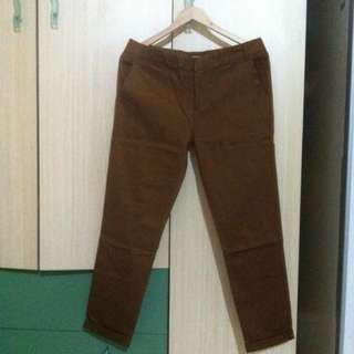 STRADIVARIUS brown pants